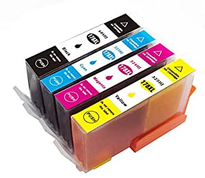 【 ICチップ付 】 HP178 XL 互換 4色セット 増量タイプ 【残量表示あり】【新機種対応】【HP互換】