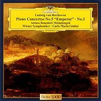 ベートーヴェン:ピアノ協奏曲第3番&第5番