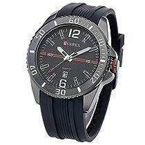 BINZI NAVIFORCE スポーツタイプ アナログ表示 アウトドア 登山 マラソン スポーツ時計 メンズ時計