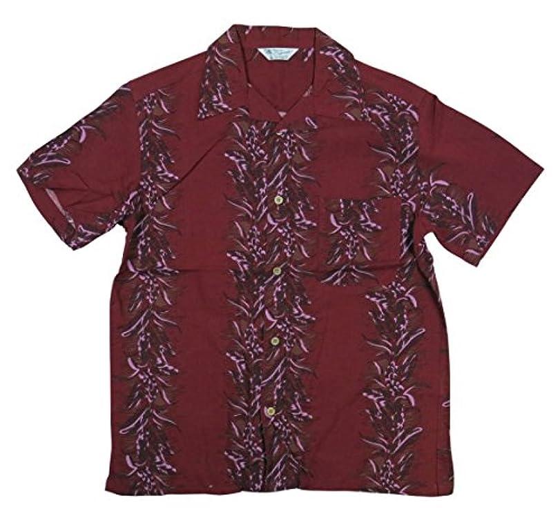 ペパーミントガロントラフ(スタイルド バイ オリジナルズ) Styled by Originals 花柄 ボーダー 半袖 レーヨン100% アロハシャツ