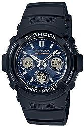 カシオ CASIO 腕時計 G-SHOCK ジーショック FIRE PACKAGE'12 タフソーラー 電波時計 MULTIBAND メンズ [逆輸入品] (【4】AWG-M100SB-2A)