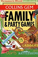 Family & Party Games (Collins Gem)