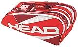 HEAD(ヘッド) テニス ラケットバッグ エリート・9R・スーパーコンビ レッド 283366