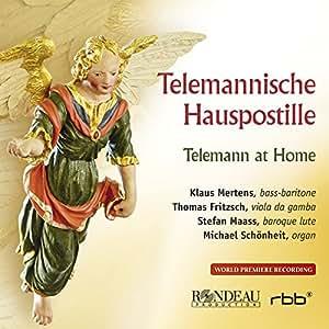 Telemannische Hauspostille‐テレマン・アット・ホーム