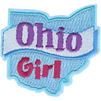 """Ohio Girl 2.5"""" Embroidered Patch AVA2397k"""