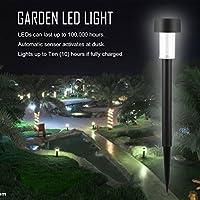 1pcソーラーパネルLEDスポットライト風景屋外ガーデンパス芝生の中庭の装飾Lampada Solar