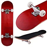 "31 "" x8 "" Complete Skateboard Maple Wood Professionトラックホイールデッキ子供プレゼント"