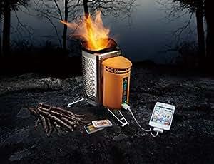 BioLite(バイオライト)キャンプストーブ2(国内正規品)≪ WATERPROOFマッチ + ペレット付≫