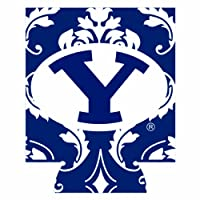NCAA Brigham Young CougarsダマスクCan Cooler Set of 4