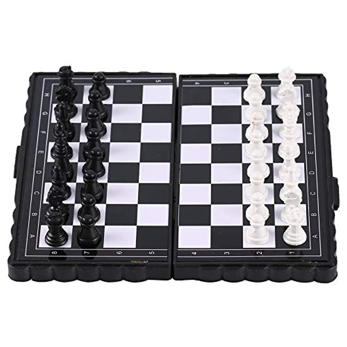 GOSIUP テーブルゲーム携帯用折りたたみ磁気ポケットプラスチックチェスチェスパーティー用パーティー