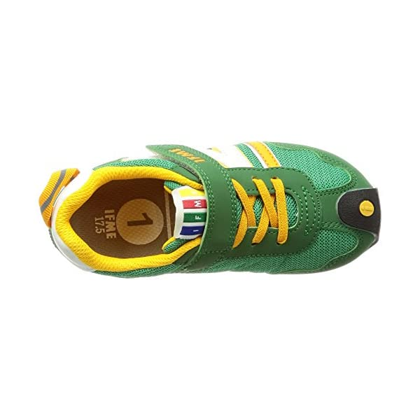 [イフミー] 運動靴 30-7705 グリーン...の紹介画像7