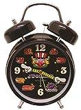 ジャグラー サウンド目覚し時計 ブラック