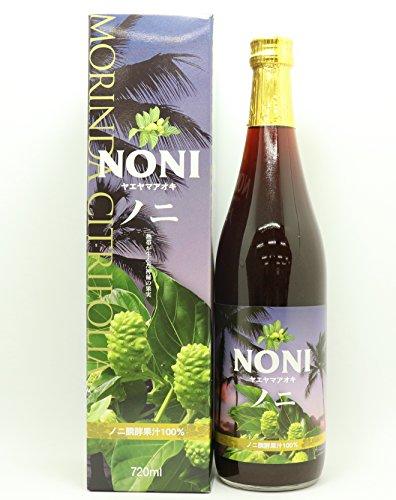 ノニジュース 無農薬ヤエヤマアオキ100% 720ml