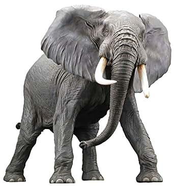 メガソフビアドバンス アフリカゾウ リデコ版 ソフトビニール製 塗装済み 完成品 フィギュア
