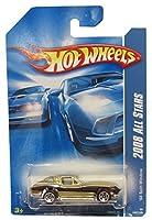 Hot Wheels 2008 All Stars Gold '63 Corvette Stingray Split Window w/ 5SPs on Beckett Price Guide Card #45