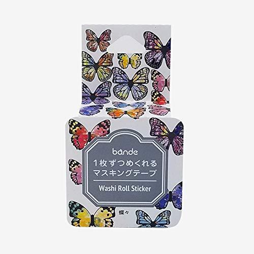 マスキングテープ マスキングロールステッカーシール BDA284 蝶々