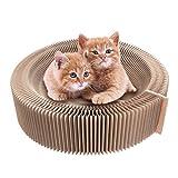 Aoonux 猫 つめとぎ 爪とぎ 爪研ぎ ベッド ダンボール 猫用ソファ 寝床 折り畳み式 ストレス解消 両面とも使える 人気