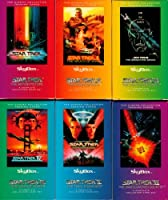 Star Trek The Original Series Complete set of Six Cinema Collection Trading Card Sets