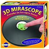 3D Optical Illusion Maker Mirascope Hologram Image Creator Magic Science Trick by Toy Gift