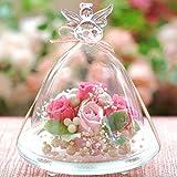 プリザーブドフラワー ガラスドーム 商品イメージ