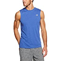 New Balance Men's Heather Tech Sleeveless Shirt