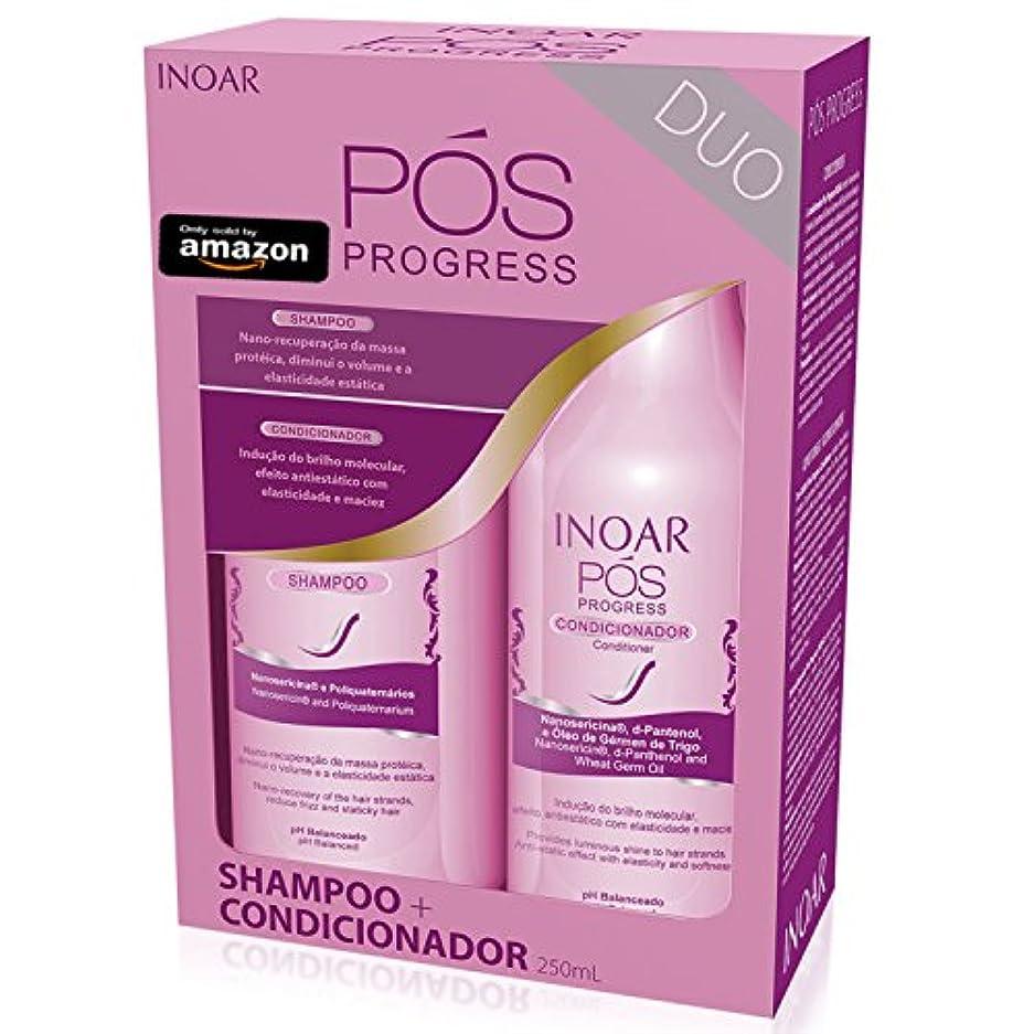 Inoar Duo POSプログレスシャンプー、250 ml