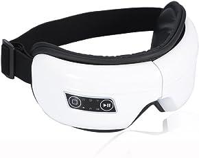 Masvan目元マッサージャー Bluetooth 目もとエステ 音楽機能 アイマッサージャー 目元美顔器 アイエステ アイマスク 5モード 180度二つ折り USB充電式