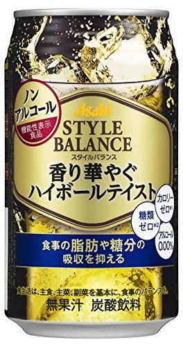アサヒスタイルバランス 香り華やぐハイボールテイスト 缶 350ml