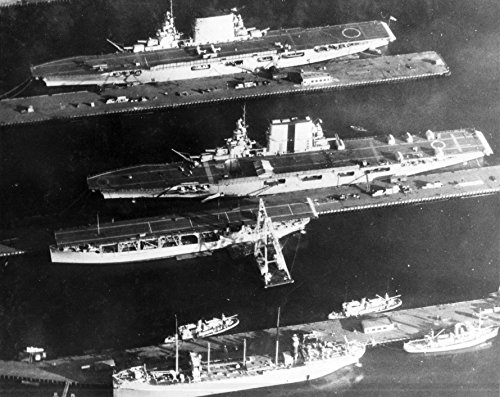 USSレキシントン( CV - 2)(上)、USS Saratoga ( cv-3)(中)、USS Langley (ラングレー) 8