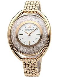 [スワロフスキー]SWAROVSKI 腕時計 クリスタルライン オーバル ローズゴールド クォーツ ブレス 5200341 レディース 【並行輸入品】