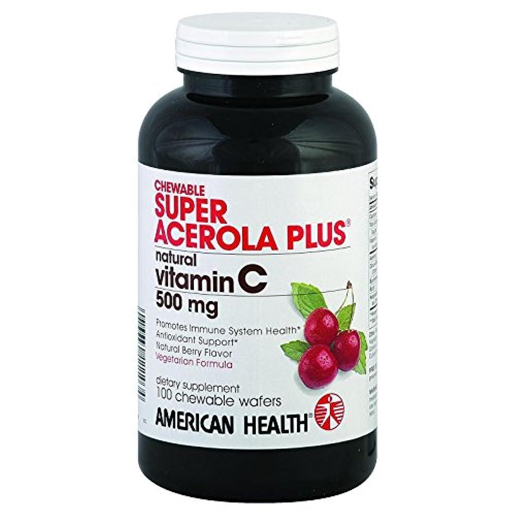 に負ける胆嚢バルセロナSuper Acerola Plus - Vitamin C (chewable) 100