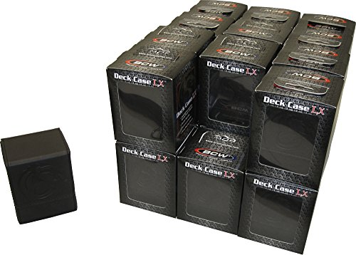 ( 24)ブラックTradingカードボックス–BCWブランド–デッキCases–Ho...