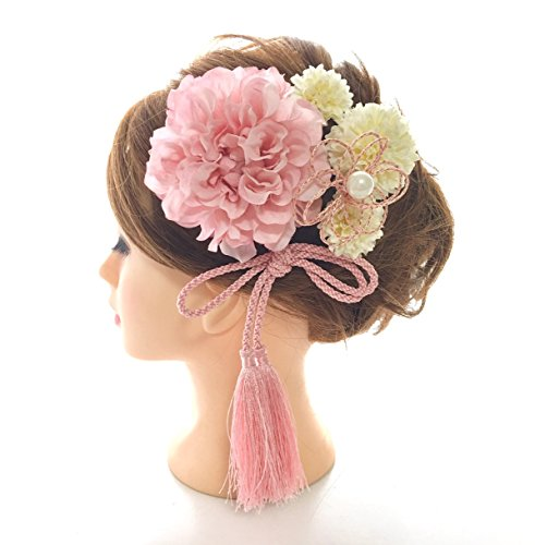 [해외]머리 장식 6 종 세트 선택할 색상 졸업식 화장 성인식 결혼식/Hair decorations 6 point set Choice of color variation Graduation ceremonial Japanese style ceremonial wedding ceremony