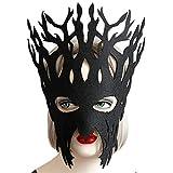 手を誇張した少年少女の大きな木のマスク学校の役割のショーハロウィンパーティー小道具の宝石類