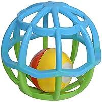 goolsky Goodway g106点滅ソフトボディ建物ボールRattle HandbellベッドサイドベルGrasping Toy for赤ちゃん早期教育