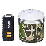 MAGNA(マグナ) 充電式 LEDランタン ハードケース リモコン付 迷彩 3WAY 550ルーメン 連続点灯240時間