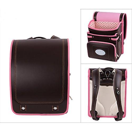 (Wansi) キッズ 子供 男の子 女の子 ランドセル 反射条 減圧 プレゼント バッグ 鞄 リュックサック (コーヒー)