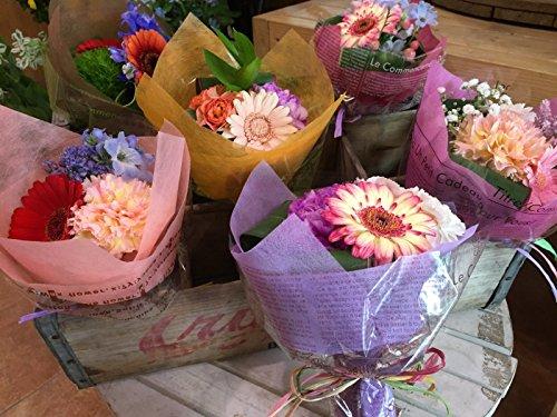 【お届け指定日が選べます】ミニブーケ ブーケ 全ておまかせの花材、花色で作成♪ミニ花束 ピアノ バレエの発表会 お祝い 卒業式 卒園式 ギフト お誕生日 プレゼントなどに♪