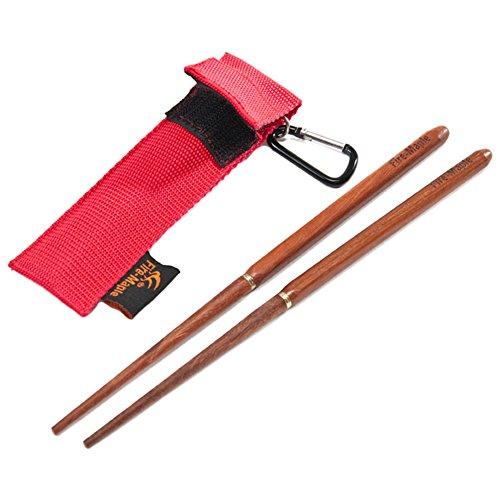 Kgljean アウトドア用品 コンパクトFmt-807 折り畳み箸 野箸 キャンピング用 箸 アウトドア用 携帯マイ箸