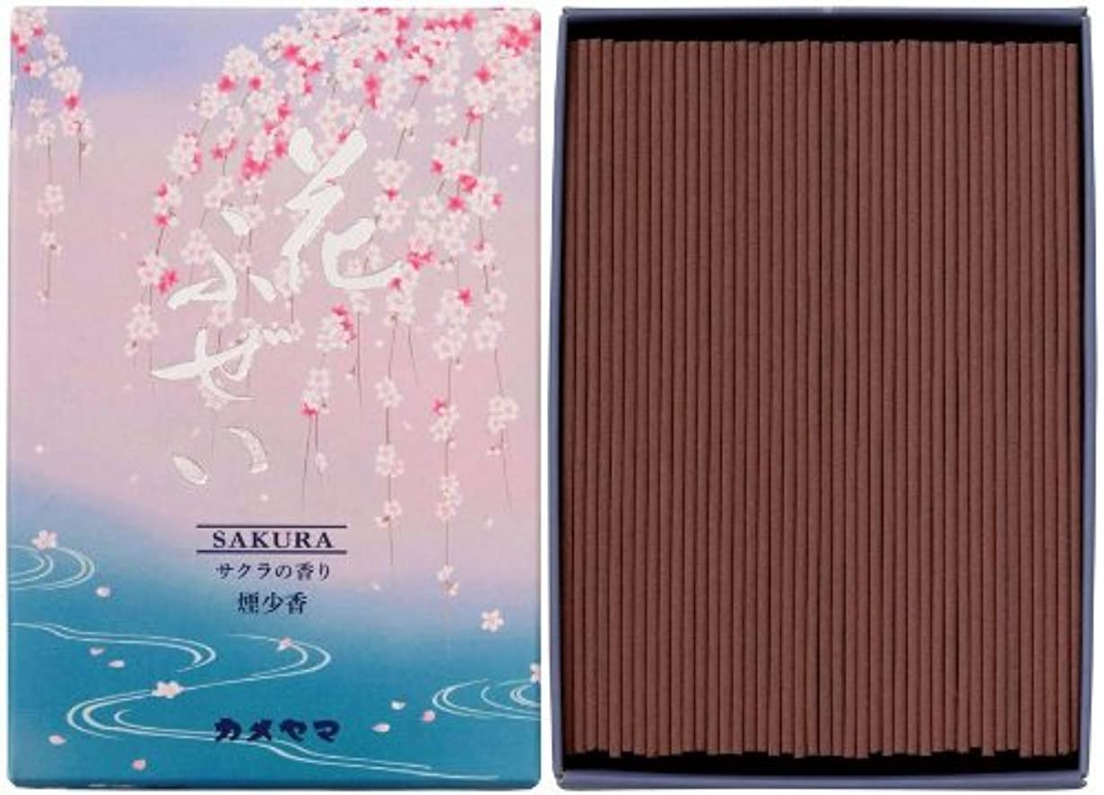 オプション床を掃除する祝う花ふぜい 桜 煙少香 徳用大型 約220g
