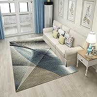 YETUGE-X ラグカーペット 絨毯カーペット 長方形 四角 カジュアル りピング おしゃれ 滑り止め オールシーズン シンプル 家具