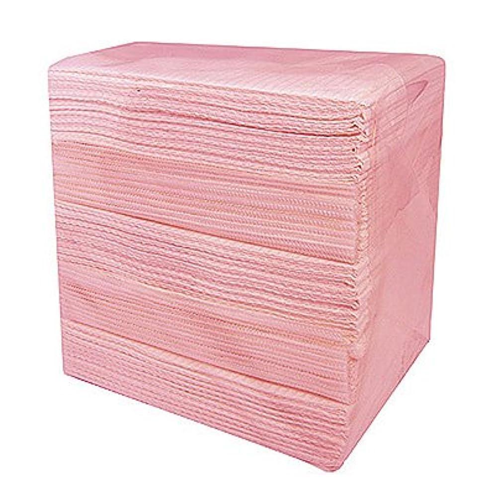 粘性の以下マウントバンク完全防水ネイルペーパー ピンク 50枚入