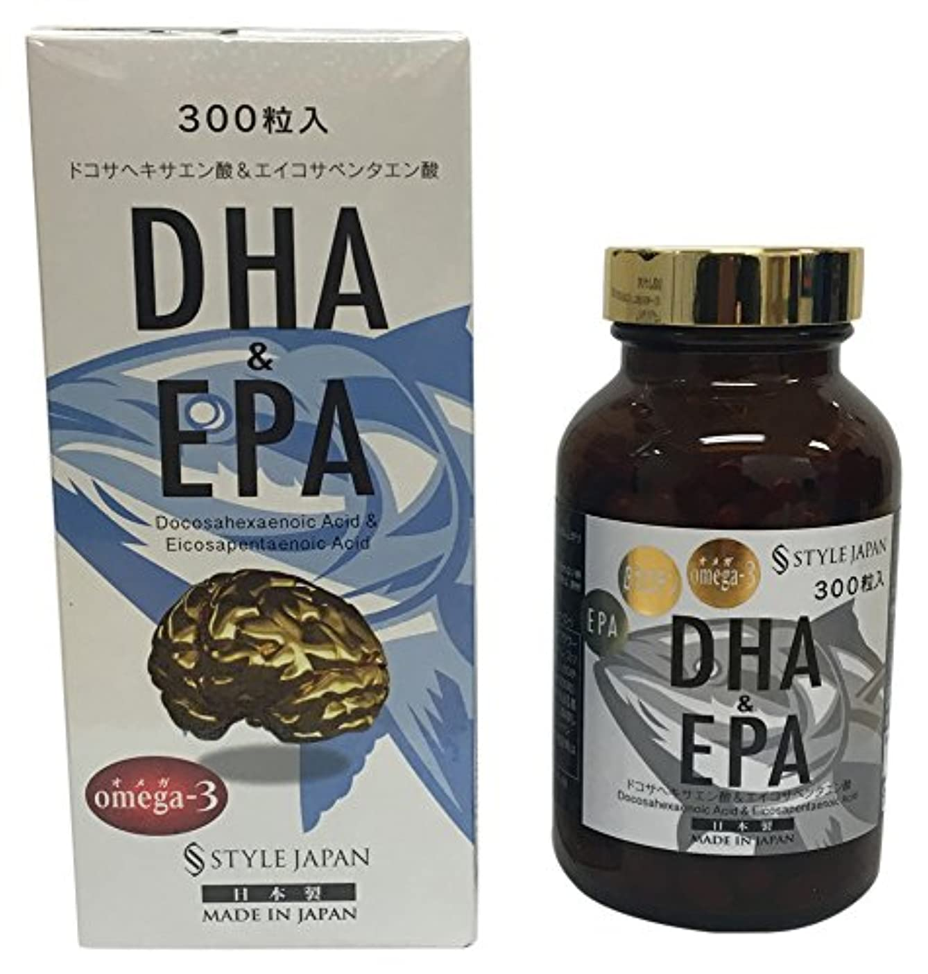 ビジュアル類似性取得スタイルジャパン DHA&EPA 300粒 90g 日本製