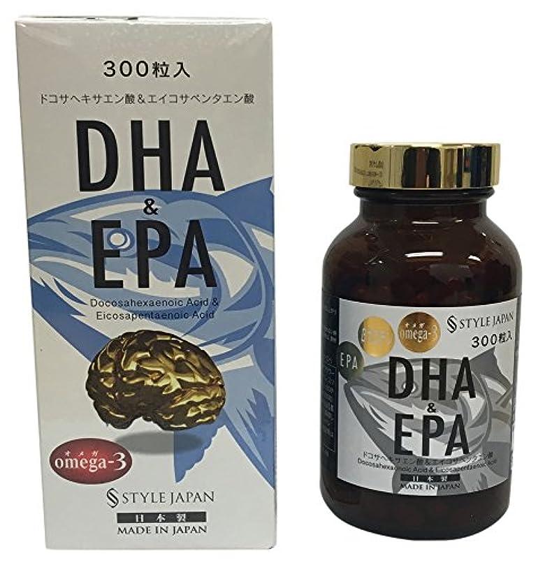 指標統治可能首尾一貫したスタイルジャパン DHA&EPA 300粒 90g 日本製