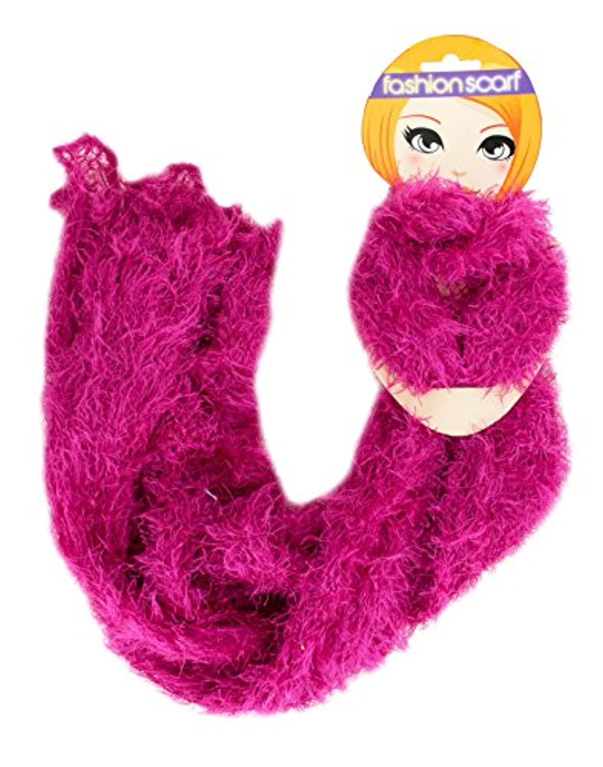 Kole Imports OF435 Fluffy Crocheted Fashion Scarf by Kole Imports