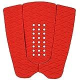 UPALL サーフィン デッキパッド スリーピース サーフボード (赤)