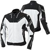 RSタイチ(アールエスタイチ) バイクジャケット ホワイト/ブラック (サイズ:3XL) ARMED(アームド)ハイプロテクションメッシュジャケット RSJ318