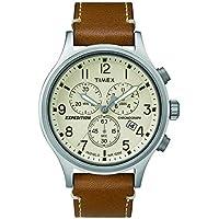 Timex Men's TW4B09200 Year-Round Chronograph Quartz Brown Watch