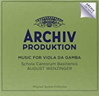 Music For Viols by August Wenzinger