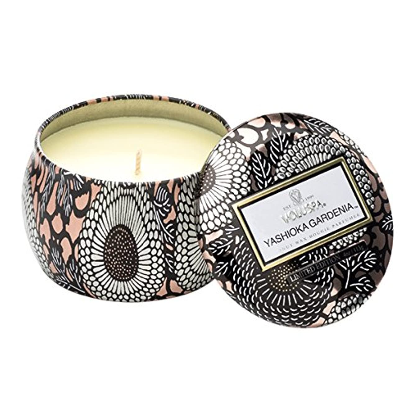 既に事故パキスタンVoluspa ボルスパ ジャポニカ リミテッド ティンキャンドル  S ヤシオカガーデニア YASHIOKA GARDENIA JAPONICA Limited PETITE Tin Glass Candle
